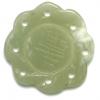 Semi-Precious 28x5mm Round Pendant New Jade